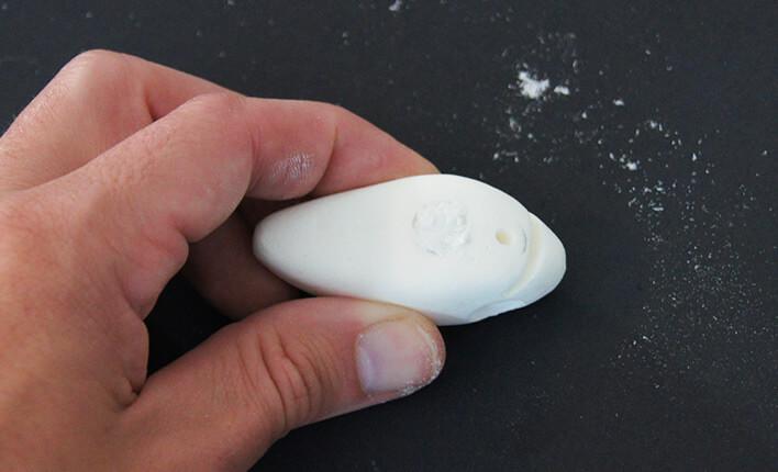 Spachtelmasse zum Bau von Kunstköder