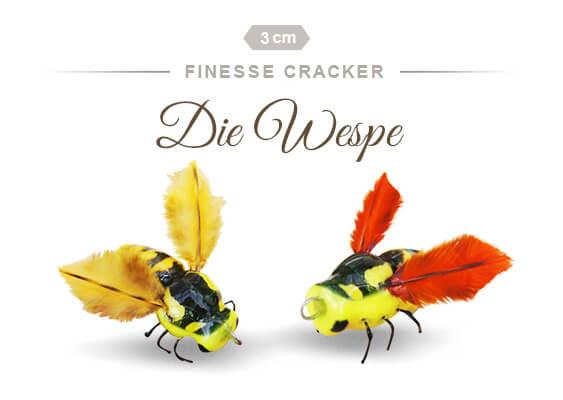 Finesse Cracker die Wespe von Fischers Gold