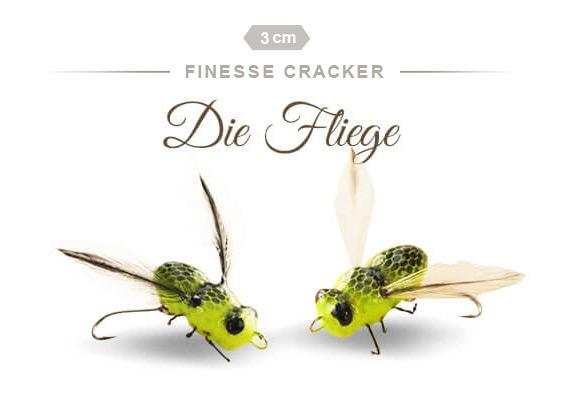 Der Finesse Cracker die Fliege