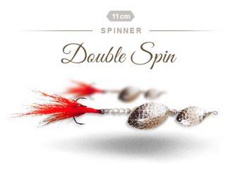 Double Spin Hechtspinner von Fischers Gold