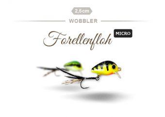 Der Forellenfloh Micro