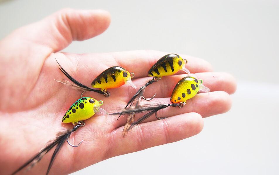 Der Forellenfloh Micro von Fischers Gold