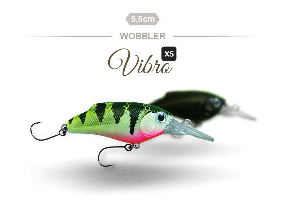 Der Vibro XS Wobbler von Fischers Gold