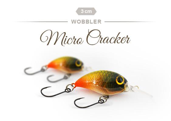 Forellenwobbler Micro Cracker
