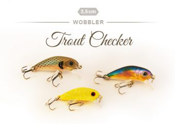 Forellen Wobbler Trout Checker