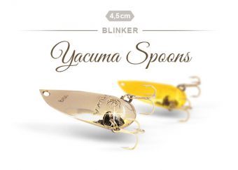 Yacuma Spoons in Gold