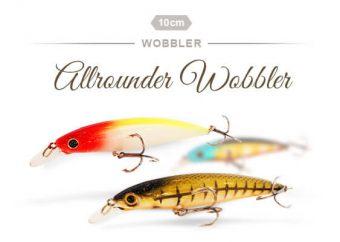 Allrounder Wobbler für Zander, Hecht & Barsch