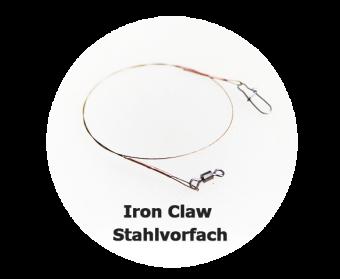 Stahlvorfach für Jerkbait und Hecht