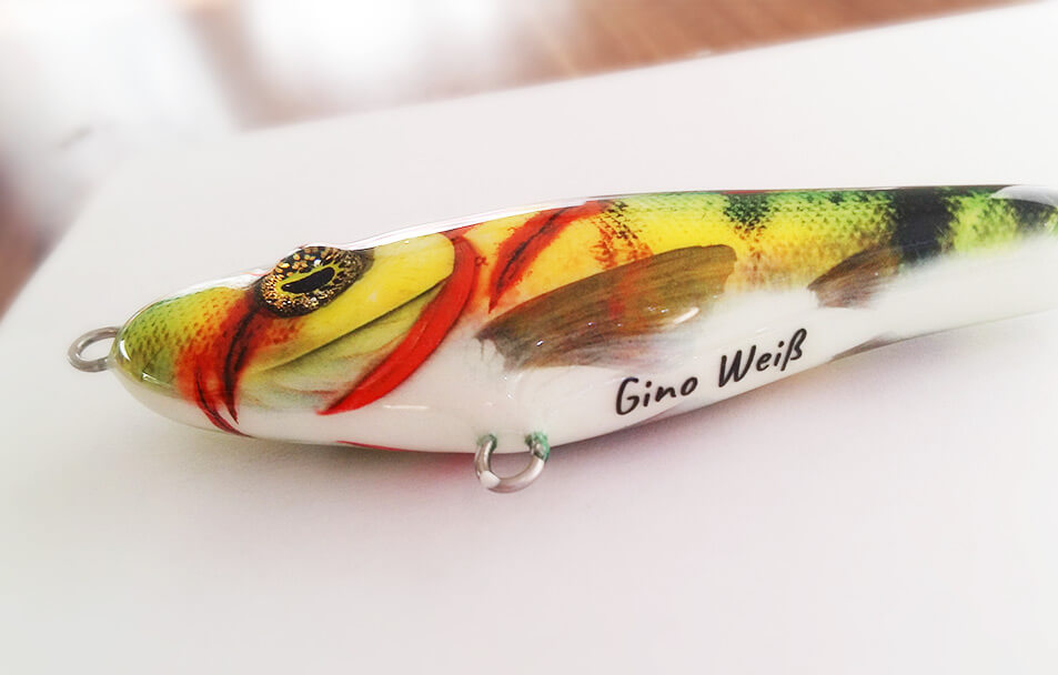 Beschriftete Geschenke für Angler