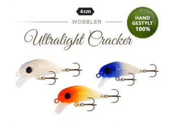 Ultralight Cracker UL Wobbler von Fischers Gold