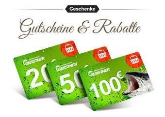 Rabatte und Gutscheine für Angler